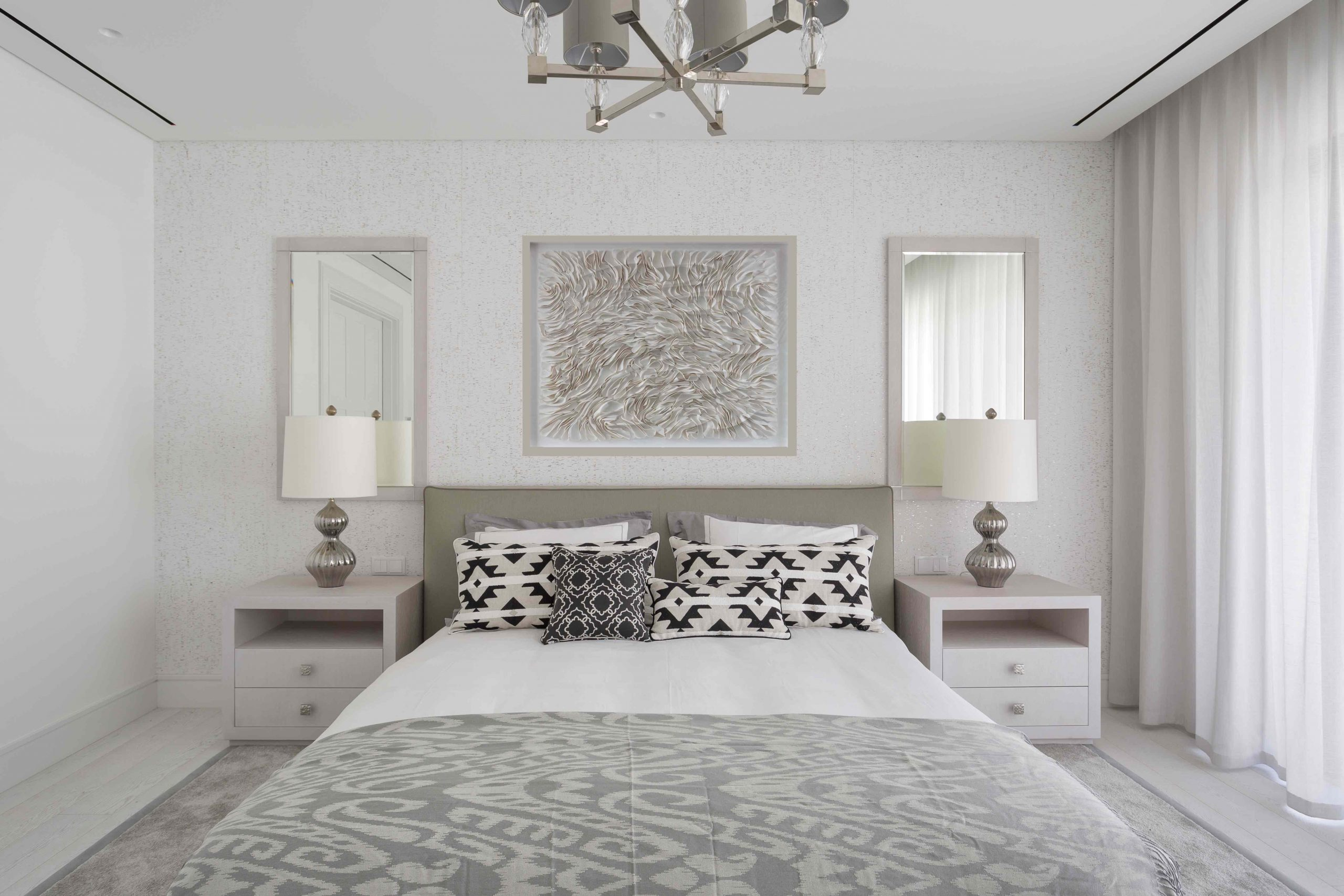 master bed art